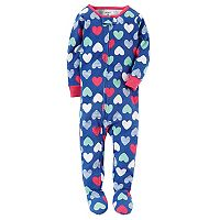 Toddler Girl Carter's Printed Footed Pajamas