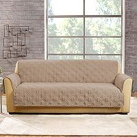Sure Fit Non-Slip Waterproof Sofa Slipcover
