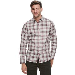 Men's Marc Anthony Slim-Fit Natural Stretch Button-Down Shirt