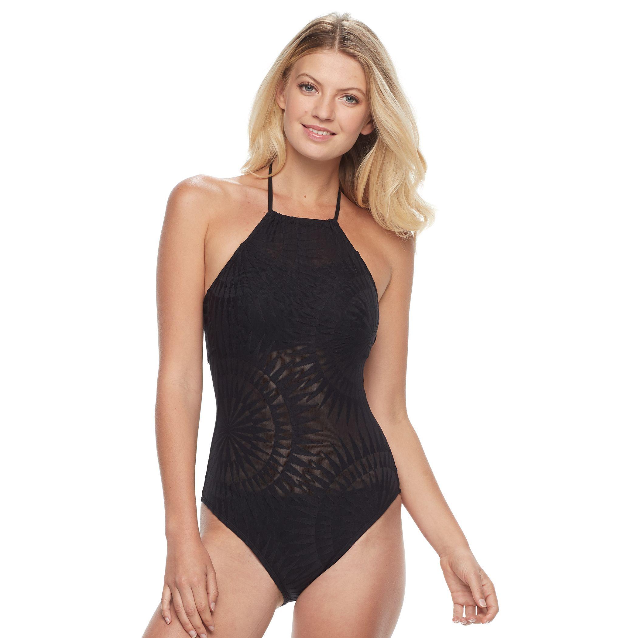 High Neck Swimdress