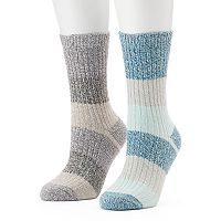 Women's Columbia 2 pkStriped Crew Socks