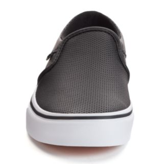 Vans Asher Women's Perforated Slip-On Skate Shoes