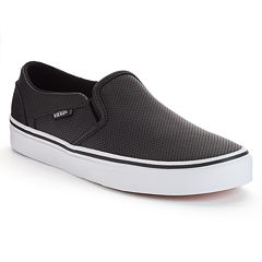 06511267d4 Vans Asher Women s Perforated Slip-On Skate Shoes