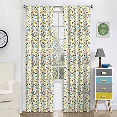 eclipse Thermaback Blackout 1-Panel MyScene Jungle Party  Window Curtain