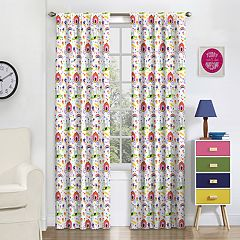 eclipse Blackout 1-Panel MyScene Pretty Princess  Window Curtain