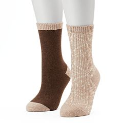 Women's Columbia 2 pkSnowflake Crew Socks