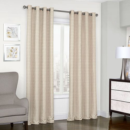 eclipse Thermalayer Blackout 1-Panel Trevi Window Curtain