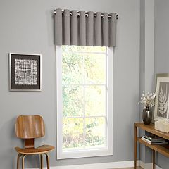 Grey Valances Window Treatments Home Decor Kohl S