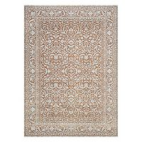 Couristan Patina Qum Framed Floral Rug