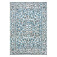 Couristan Patina Qum Framed Floral Rug