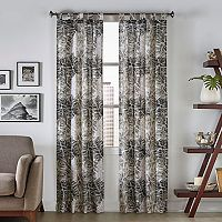 Pairs To Go 2-pack Marley Tropical Window Curtain
