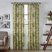 Pairs To Go 2-pack Marley Tropical Window Curtains