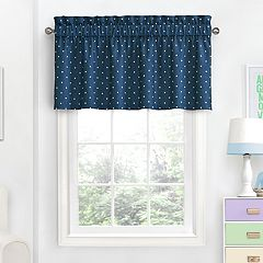 Blue Valances Window Treatments Home Decor Kohl S