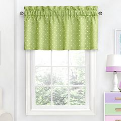 eclipse MyScene Polka Dot Thermaback Blackout Window Valance