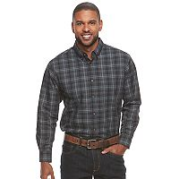 Men's Haggar® Weekender Classic-Fit Button-Down Shirt