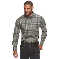 Men's Haggar® Weekender Classic-Fit Button-Down Shirt
