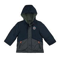 Boys 4-7 Carter's Fleece-Lined Colorblock Heavyweight Jacket