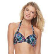Women's Apt. 9® Printed Bikini Bra Top