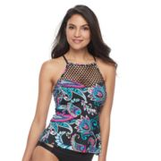 Women's Apt. 9® High Neck Flyaway Tankini Top