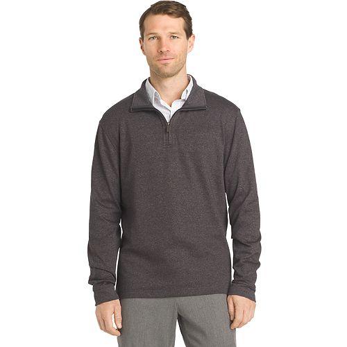 Men's Van Heusen Flex Stretch Classic-Fit Quarter-Zip Pullover