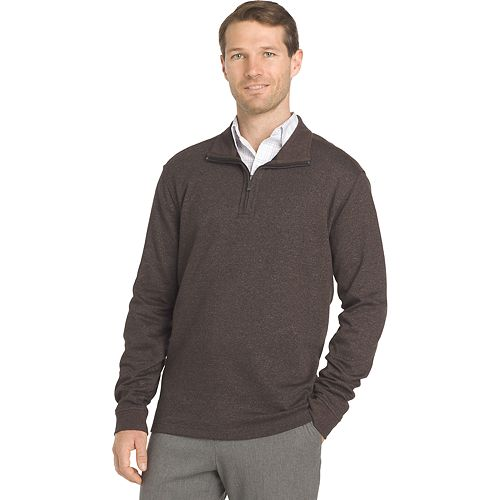 159ff652423807 Men's Van Heusen Flex Stretch Classic-Fit Quarter-Zip Pullover