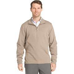 Men's Van Heusen Flex Stretch Classic-Fit Quarter-Zip Pullover
