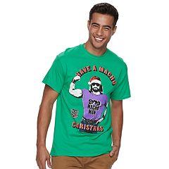 Men's WWE Macho Man Christmas Tee