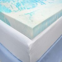SensorPEDIC 3-inch Gel Swirl Mattress Topper