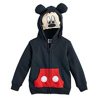 Disney's Mickey Mouse Toddler Boy Mask Zip Hoodie