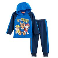 Toddler Boy Paw Patrol 2 pc Rubble, Chase & Marshall Hoodie & Pants Set