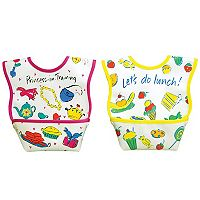 Dexbaby 2-pk. Princess Catch-All Waterproof Small Dura-Bib Set