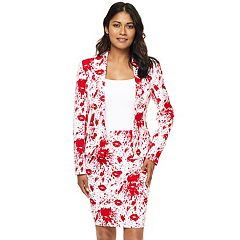 298dc8a864 Women s OppoSuits Print Jacket   Skirt Set
