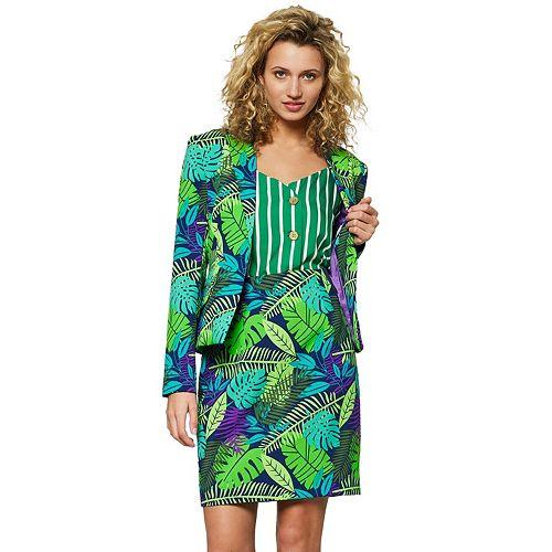 Women's Opposuits Print Jacket & Skirt Set
