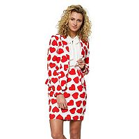 Women's Opposuits Print Jacket & Skirt Set