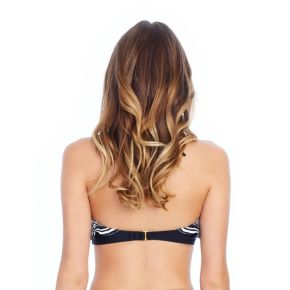Mix and Match Flounce Underwire Push-Up Bikini Top