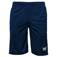 Boys 8-20 Milwaukee Brewers Mesh Shorts