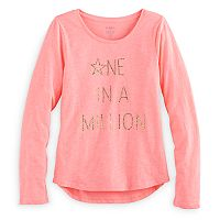 Girls 7-16 & Plus Size SO® Shine Core Graphic Tee