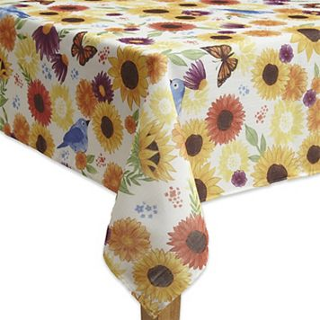 Celebrate Fall Together Floral Tablecloth