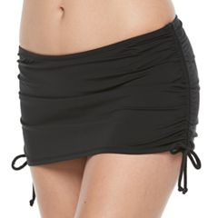 Women's Apt. 9® Side Tie Swim Skirt