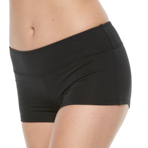Women's Apt. 9® Boyshort Swim Bottoms