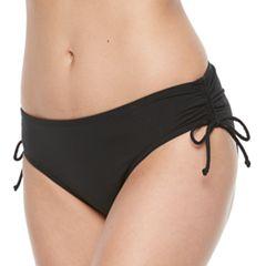 Women's Apt. 9® Side Tie Scoop Bikini Bottoms