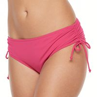 Women's Apt. 9® Side Tie Scoop Bikini Bottoms