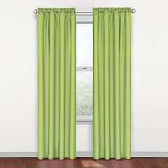 eclipse MyScene Polka Dot Thermaback Blackout Window Curtain