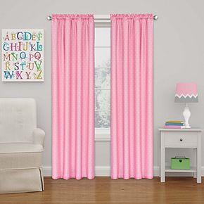 Eclipse Kids Polka Dots Blackout Window Curtain