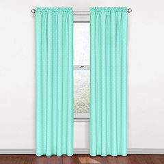 eclipse Thermaback Blackout 1-Panel MyScene Polka Dot  Window Curtain