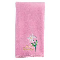 Celebrate Easter Together 'Easter Blessings' Lily Hand Towel