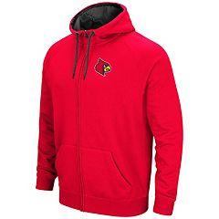 Men's Campus Heritage Louisville Cardinals Zip-Up Hoodie