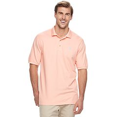 Big & Tall IZOD Advantage Sportflex Regular-Fit Oxford Stretch Performance Polo