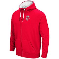 Men's Campus Heritage Wisconsin Badgers Zip-Up Hoodie