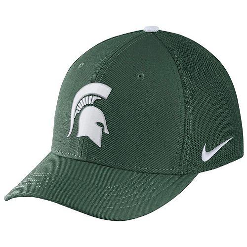 Adult Nike Michigan State Spartans Aerobill Flex-Fit Cap